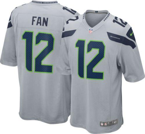 Top Nike Men's Alternate Game Jersey Seattle Seahawks Fan #12   DICK'S  for sale