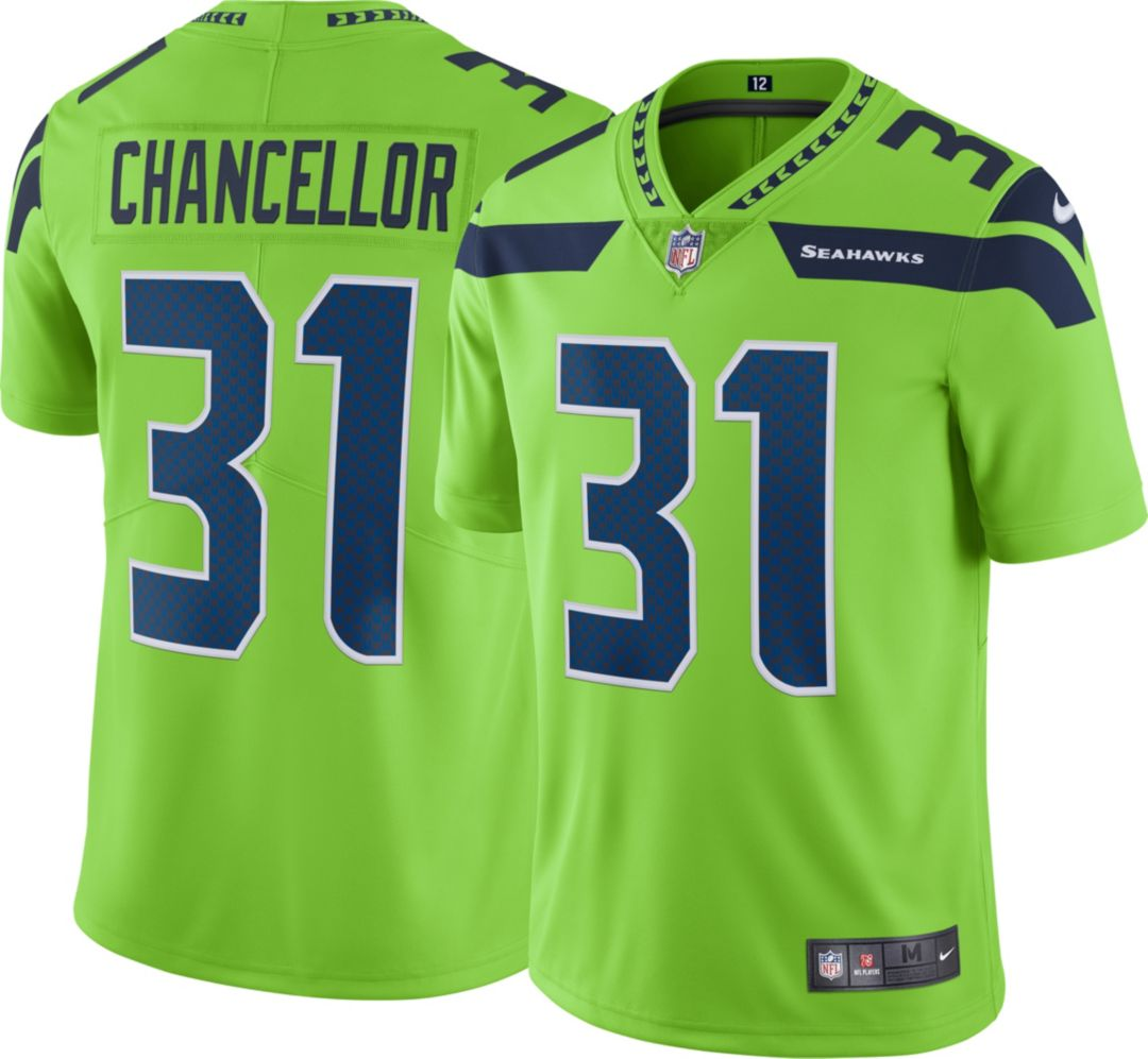 92ac53816 Nike Men's Color Rush Limited Jersey Seattle Seahawks Kam Chancellor #31.  noImageFound. Previous