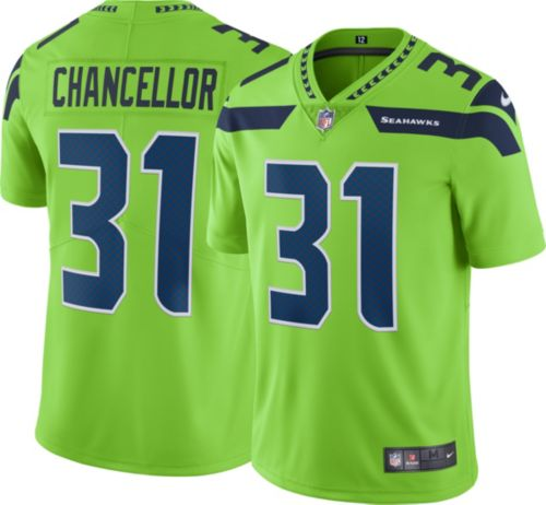 96ba4fc0f Nike Men s Color Rush Limited Jersey Seattle Seahawks Kam Chancellor ...