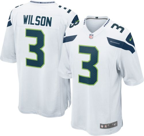 Nike Men s Away Game Jersey Seattle Seahawks Russell Wilson  3.  noImageFound. Previous 30bc89e16