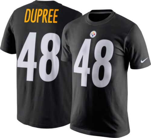 Nike Men s Pittsburgh Steelers Bud Dupree  48 Pride Black T-Shirt ... 1fcc4018d