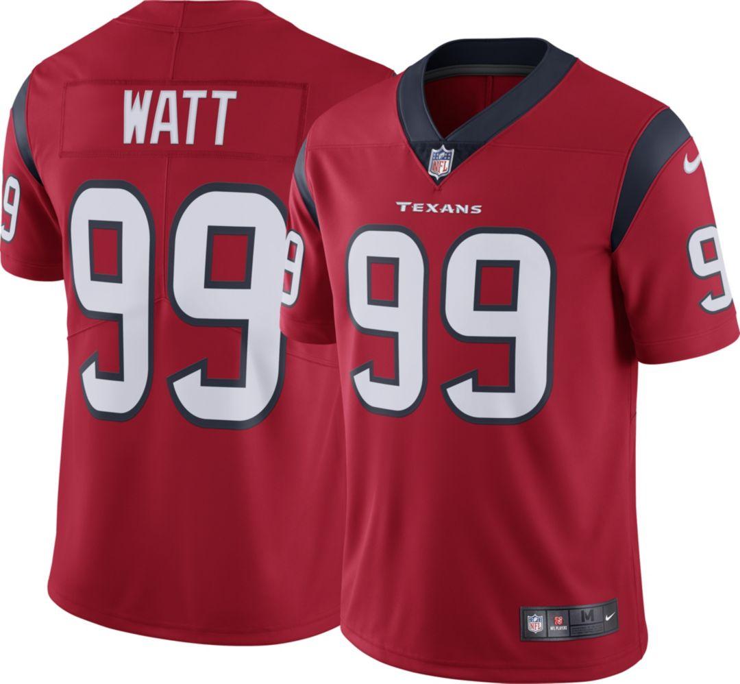 3f45801b Nike Men's Alternate Limited Jersey Houston Texans J.J. Watt #99