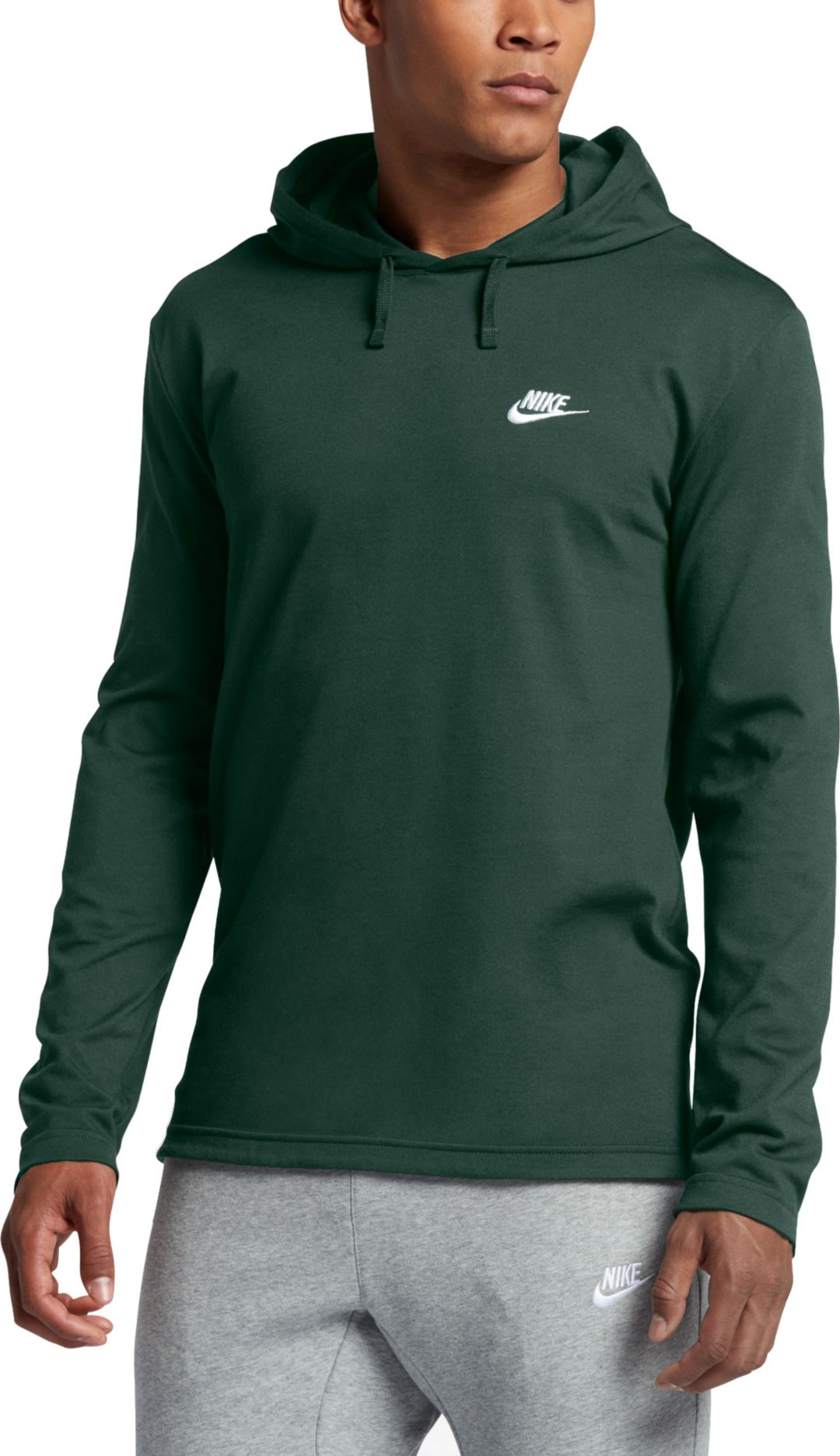detailed look 7167f 2c74e Nike Men's Jersey Lightweight Pullover Hoodie