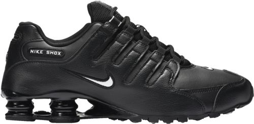 reputable site 49765 4e2f8 authentic nike shox nz black white metallic silver sneakernews 387bf dcde5   france nike mens shox nz shoes dicks sporting goods 0855d 448fa