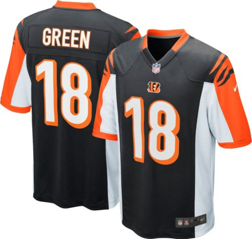 Discount Nike Toddler Home Game Jersey Cincinnati Bengals A.J. Green #18  for sale f8JnWicz
