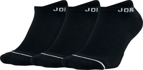 size 40 5e8e2 c0a1b Jordan Jumpman Dri-FIT No Show Socks 3 Pack   DICK S Sporting Goods