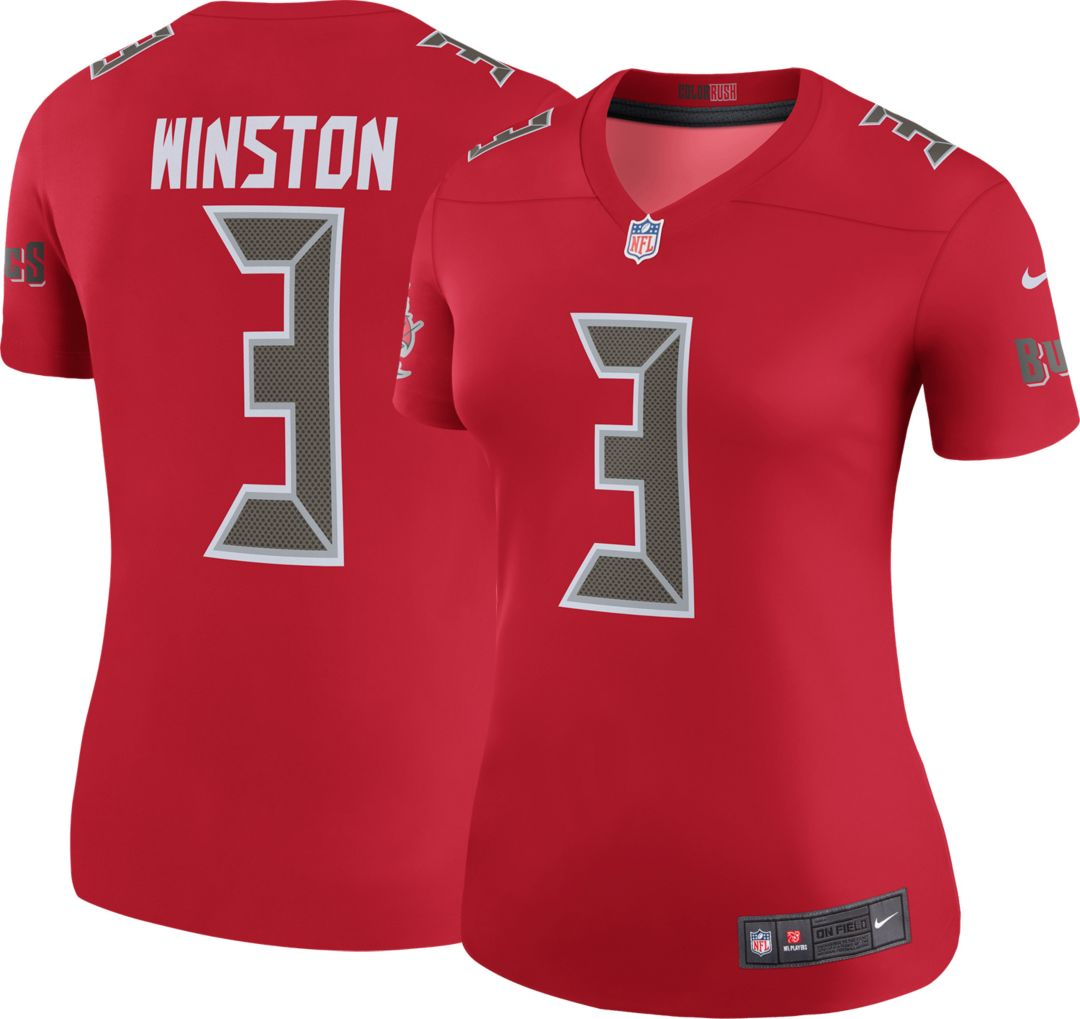 40ffa087 Nike Women's Color Rush Legend Jersey Tampa Bay Buccaneers Jameis Winston #3