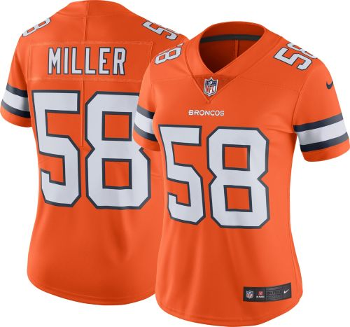 aecae604d Nike Women s Color Rush Limited Jersey Denver Broncos Von Miller  58.  noImageFound. Previous
