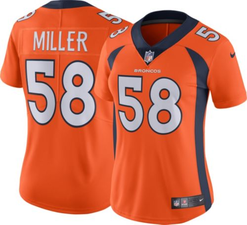 Nike Women's Home Limited Jersey Denver Broncos Von Miller #58  for cheap