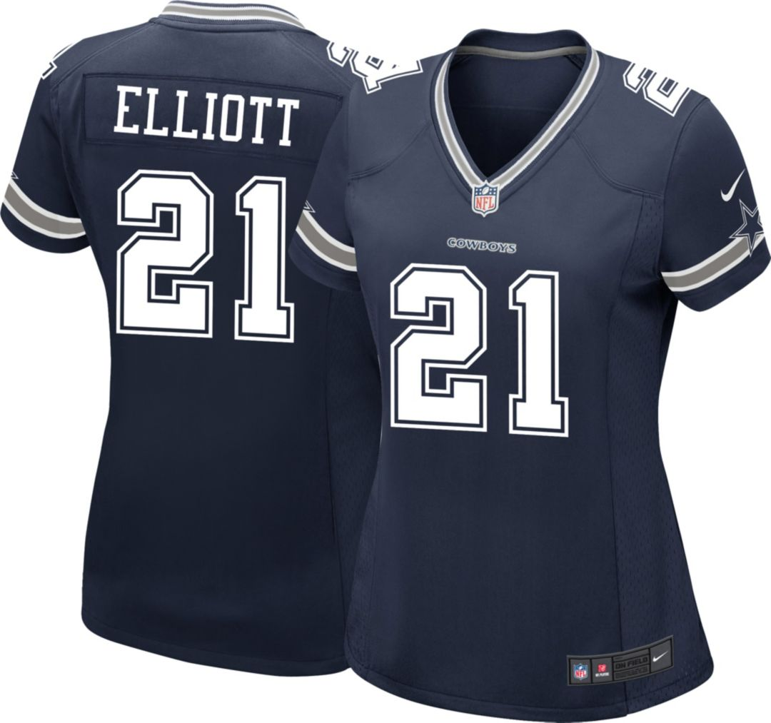c454083a Nike Women's Game Jersey Dallas Cowboys Ezekiel Elliott #21