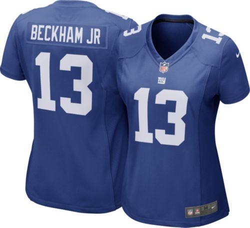 e1881d5e93dc Nike Women's Home Game Jersey New York Giants Odell Beckham Jr. #13.  noImageFound. Previous