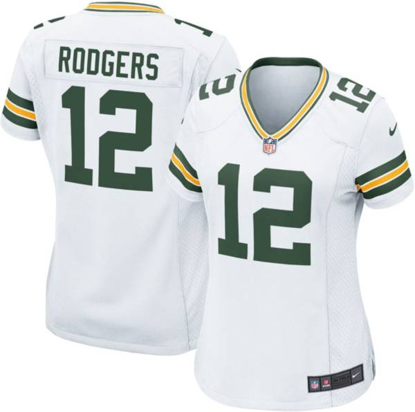 Nike Women's Away Game Jersey Green Bay Packers Aaron Rodgers #12 product image