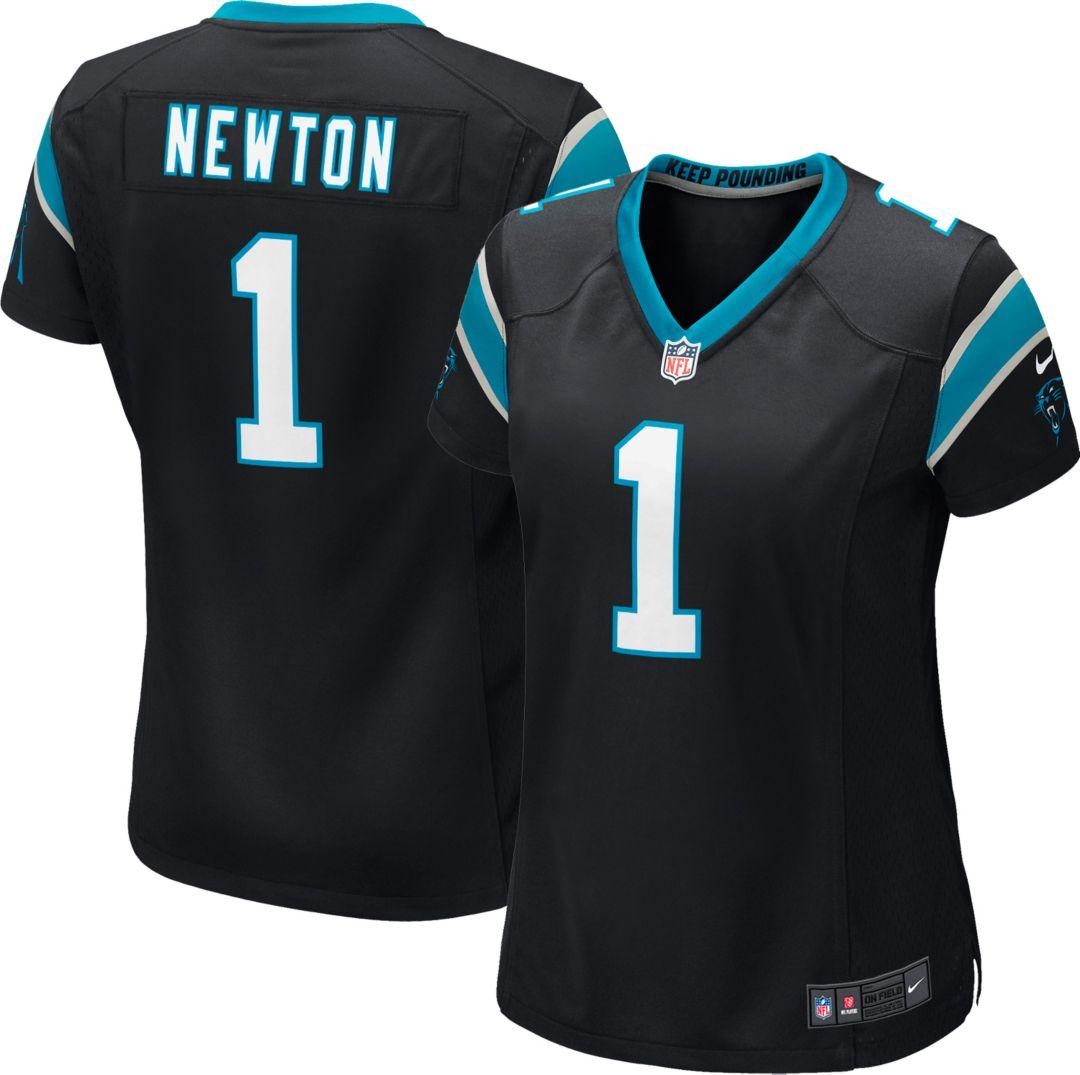 90793873 Nike Women's Home Game Jersey Carolina Panthers Cam Newton #1.  noImageFound. Previous. 1
