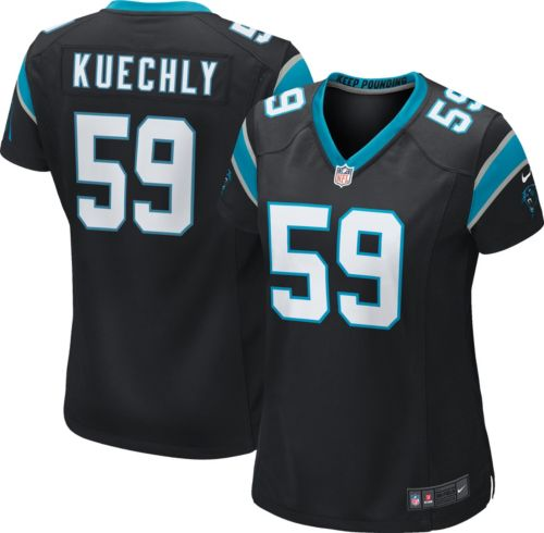9a39ecbf37d Nike Women's Home Game Jersey Carolina Panthers Luke Kuechly #59.  noImageFound. Previous