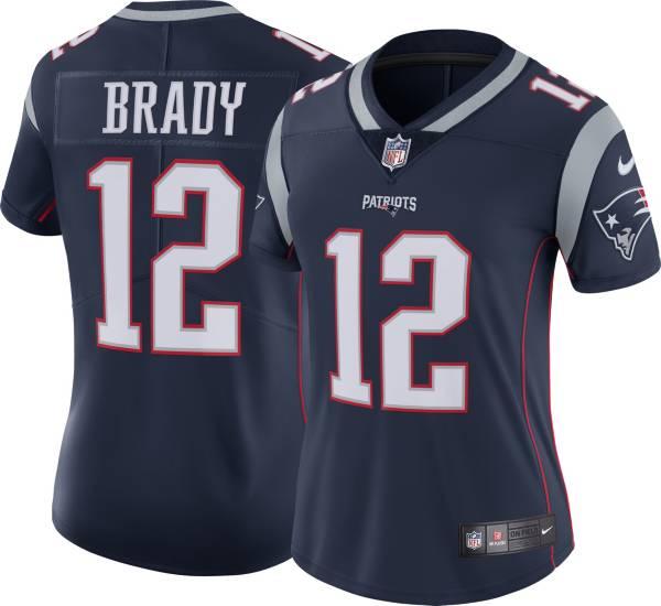 Nike Women's New England Patriots Tom Brady #12 Navy Limited Jersey product image