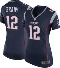 Nike Women's New England Patriots Tom Brady #12 Navy Game Jersey