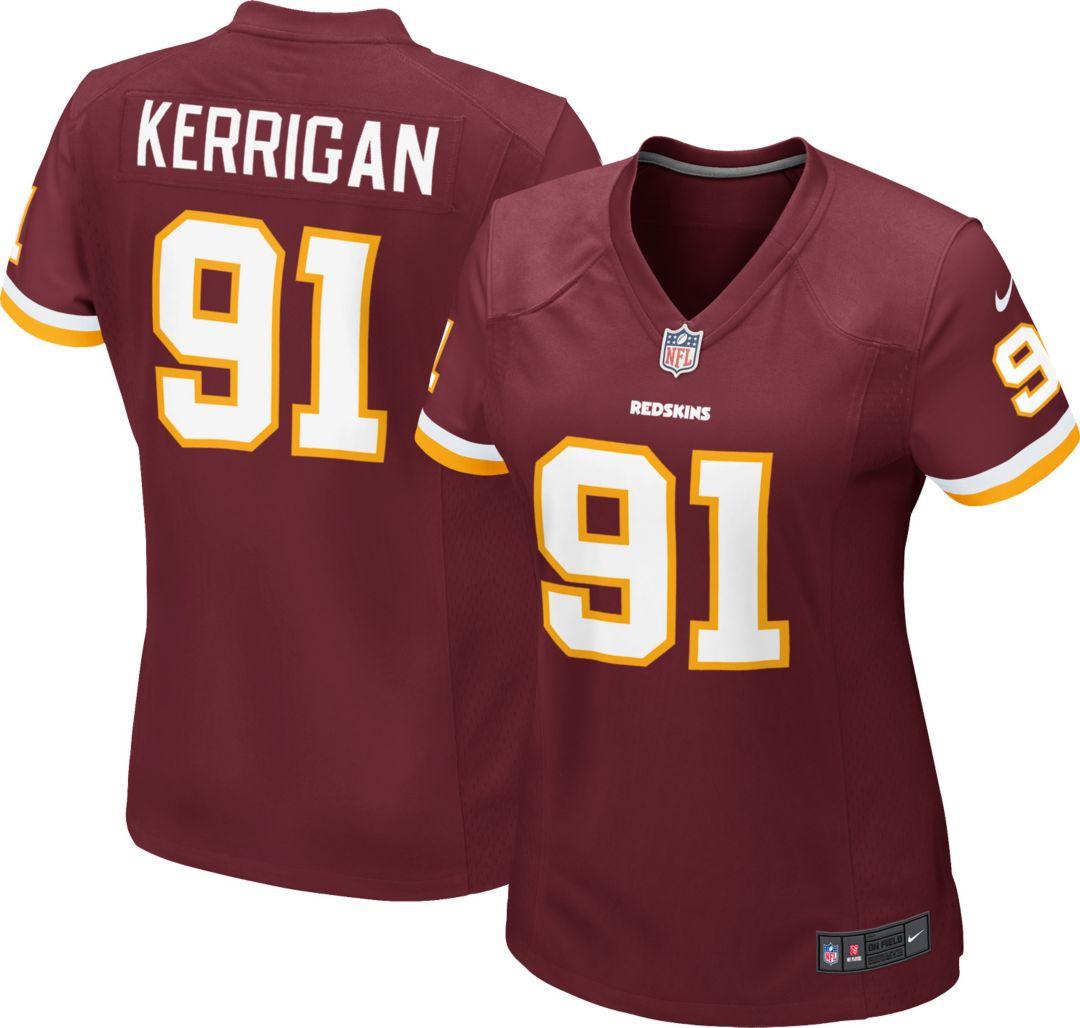 096b4ca7 Nike Women's Home Game Jersey Washington Redskins Ryan Kerrigan #91