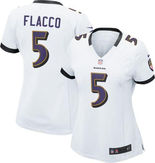 Nike Women s Away Game Jersey Baltimore Ravens Joe Flacco  5. noImageFound.  Previous f2a981636
