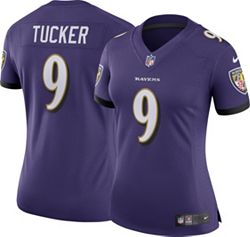 free shipping ddd29 74729 Nike Women's Home Limited Jersey Baltimore Ravens Justin Tucker #9