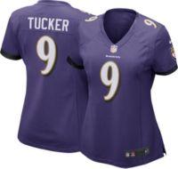 Nike Women's Baltimore Ravens Justin Tucker #9 Purple Game Jersey