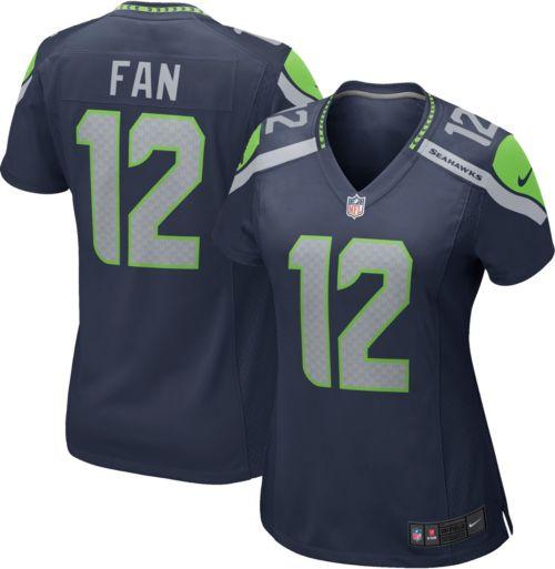 cbe683b8a11 Nike Women s Home Game Jersey Seattle Seahawks Fan  12