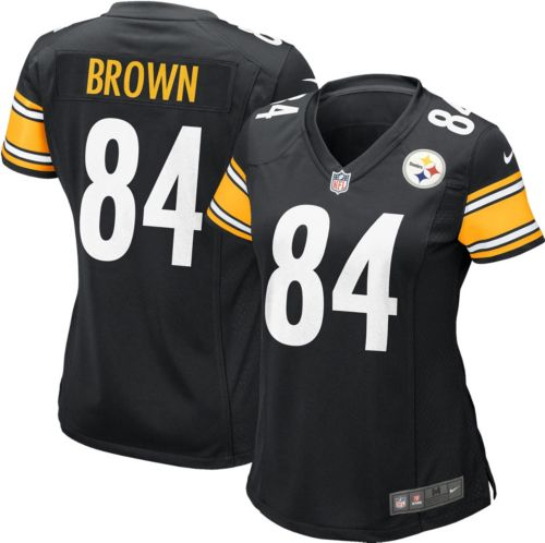 Nike Women s Home Game Jersey Pittsburgh Steelers Antonio Brown  84 ... bb0c7117f