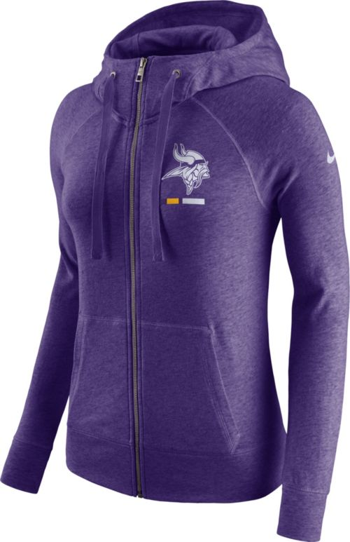 newest 2ae11 8cc56 Nike Women s Minnesota Vikings Gym Vintage Full-Zip Purple Hoodie.  noImageFound. Previous