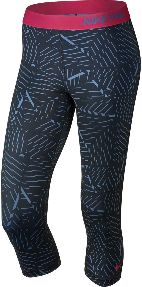 Nike Women's Pro Classic Bash Printed Capris product image