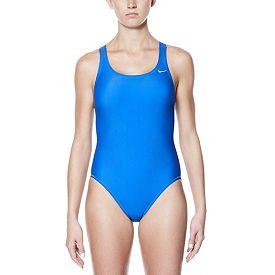 b11cb02d95b Nike Women's Core Solid Fast Back Swimsuit | DICK'S Sporting ...