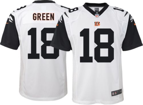01b1f3218f4 Nike Youth Color Rush Game Jersey Cincinnati Bengals A.J. Green  18.  noImageFound. Previous
