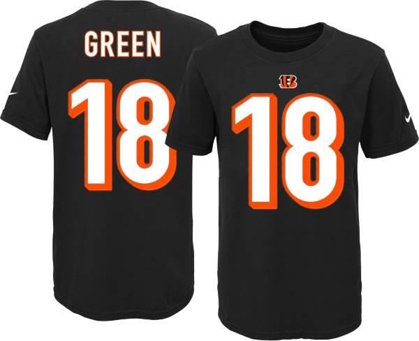 Nike Youth Cincinnati Bengals A.J. Green #18 Black T-Shirt product image
