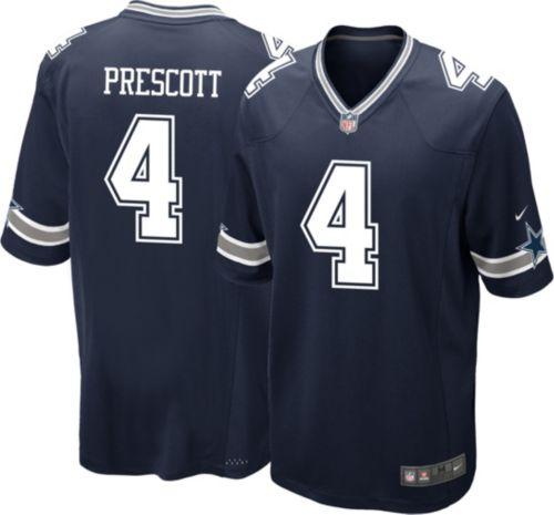 bbae91df8 Nike Youth Game Jersey Dallas Cowboys Dak Prescott #4. noImageFound.  Previous. 1. 2