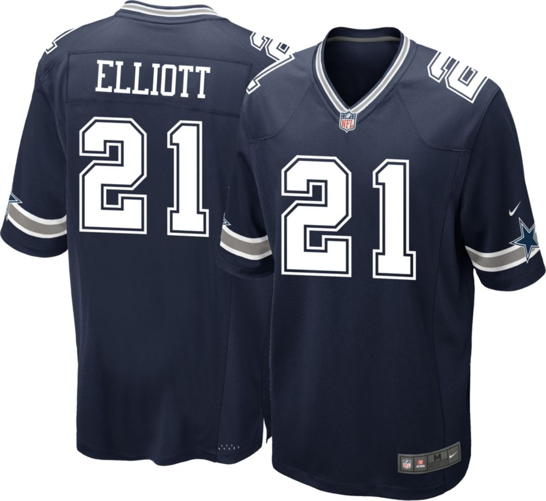 859f54b4 Nike Youth Game Jersey Dallas Cowboys Ezekiel Elliott #21