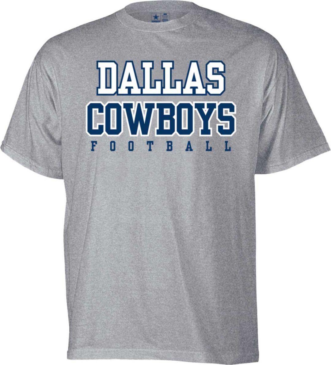 8122f057 Dallas Cowboys Merchandising Youth Practice Grey T-Shirt. noImageFound.  Previous