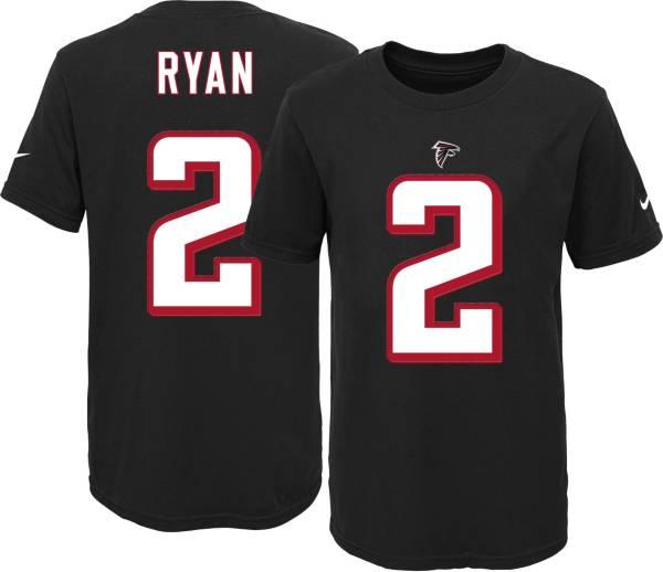 Nike Youth Atlanta Falcons Matt Ryan #2 Black T-Shirt product image