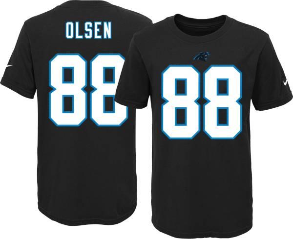 Nike Youth Carolina Panthers Greg Olsen #88 Black T-Shirt product image