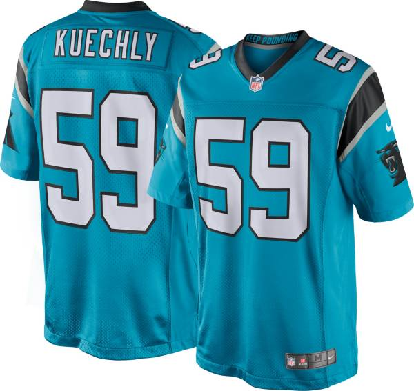 Nike Youth Carolina Panthers Luke Kuechly #59 Blue Game Jersey product image