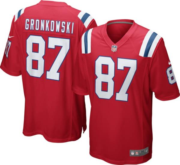 Nike Youth Alternate Game Jersey New England Patriots Rob Gronkowski #87 product image