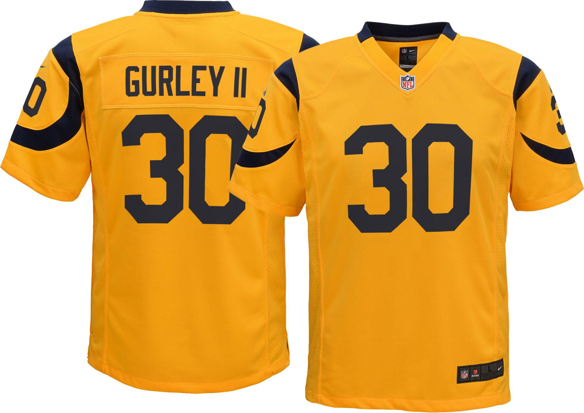 Color Rush Game Jersey Los Angeles Rams
