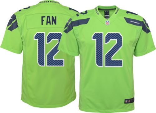 9e70dd68b789 Nike Youth Color Rush Game Jersey Seattle Seahawks Fan  12. noImageFound.  Previous