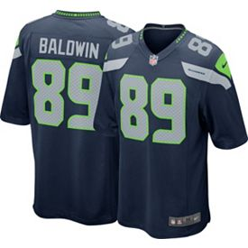 Hot Nike Youth Home Game Jersey Seattle Seahawks Doug Baldwin #89