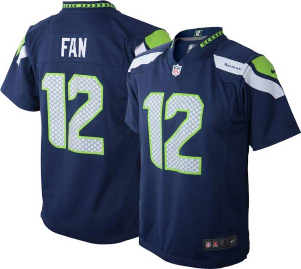 Nike Toddler Seattle Seahawks 12th Fan #12 Navy Game Jersey product image