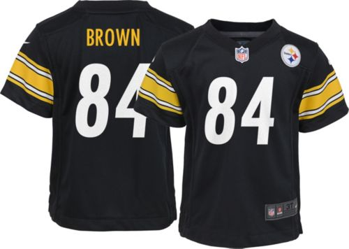 72017d51b0f Nike Toddler Home Game Jersey Pittsburgh Steelers Antonio Brown  84.  noImageFound. Previous