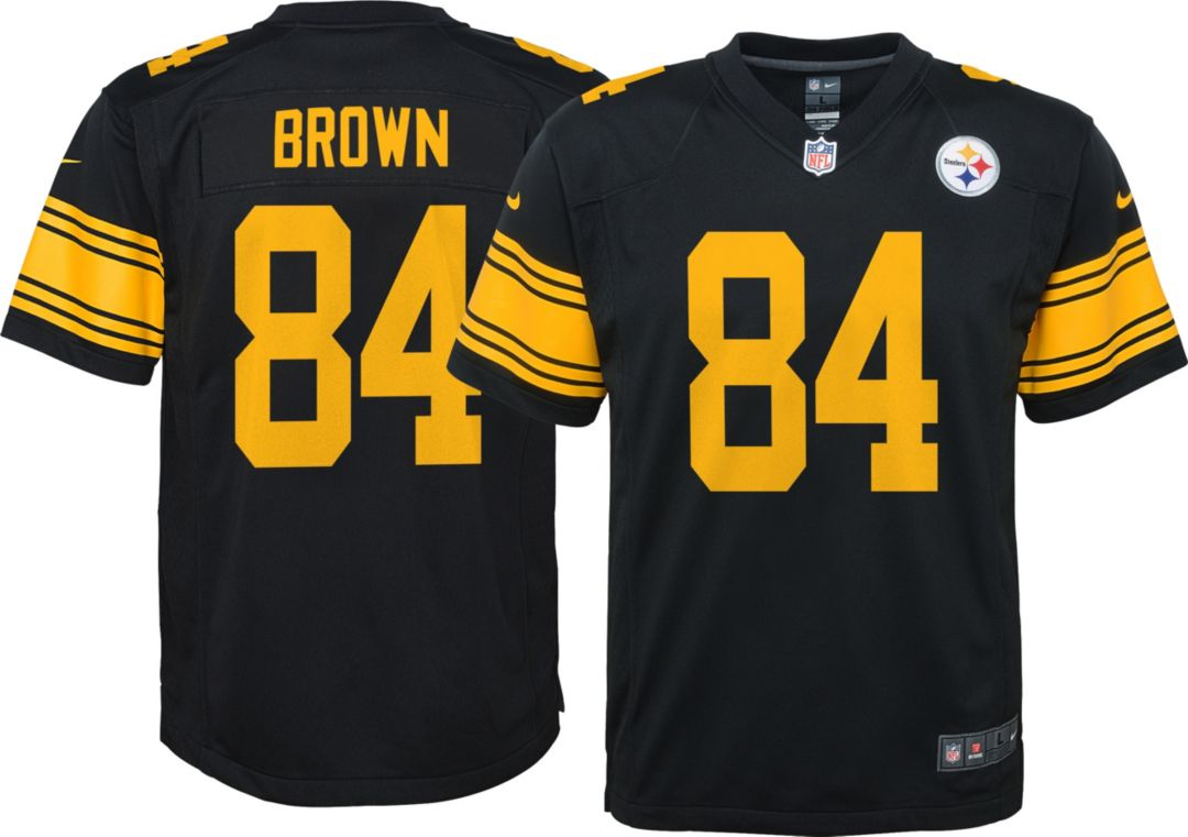 0f1f18b6 Nike Youth Color Rush Game Jersey Pittsburgh Steelers Antonio Brown #84
