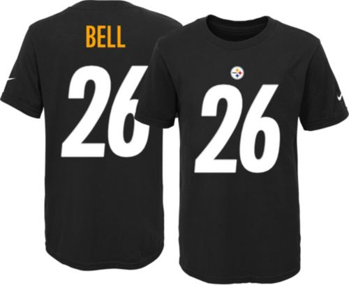 ea49a32d4 Nike Youth Pittsburgh Steelers Le Veon Bell  26 Black T-Shirt.  noImageFound. Previous