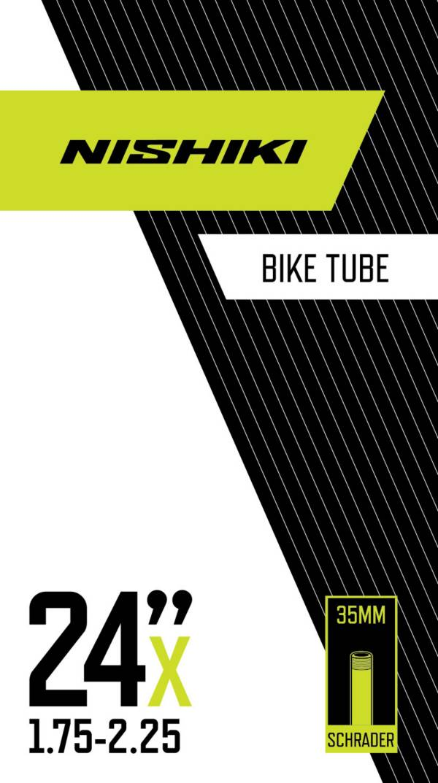 Nishiki Schrader Valve 24'' 1.75-2.25 Bike Tube product image