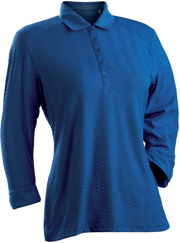 Nancy Lopez Women's Grace Three-Quarter Sleeve Golf Polo product image