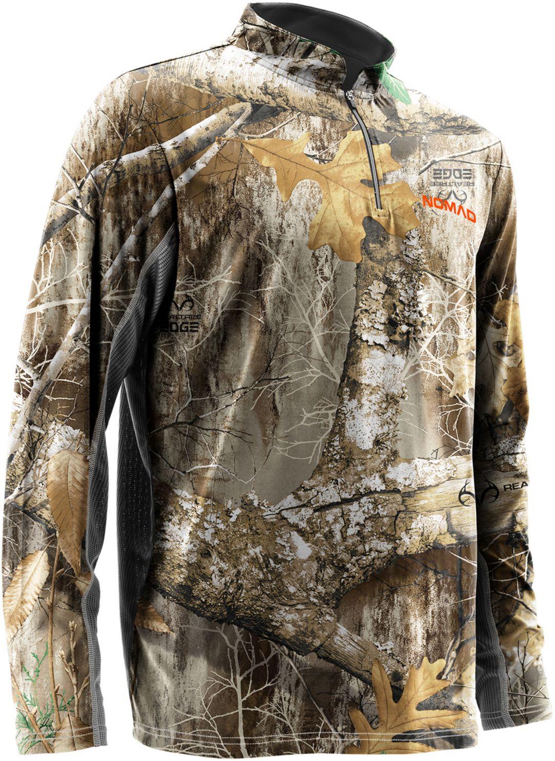 f9d299dc NOMAD Men's Quarter Zip Long Sleeve Hunting Shirt. noImageFound. Previous. 1