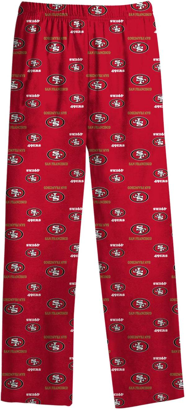NFL Team Apparel Youth San Francisco 49ers Dorm Red Pants product image