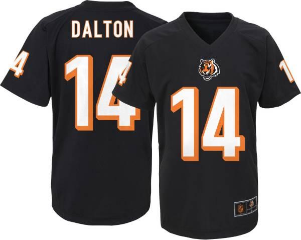 NFL Team Apparel Youth Cincinnati Bengals Andy Dalton #14 Black T-Shirt product image
